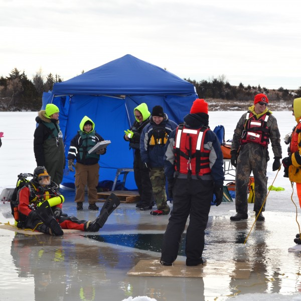 Ice Diving Training
