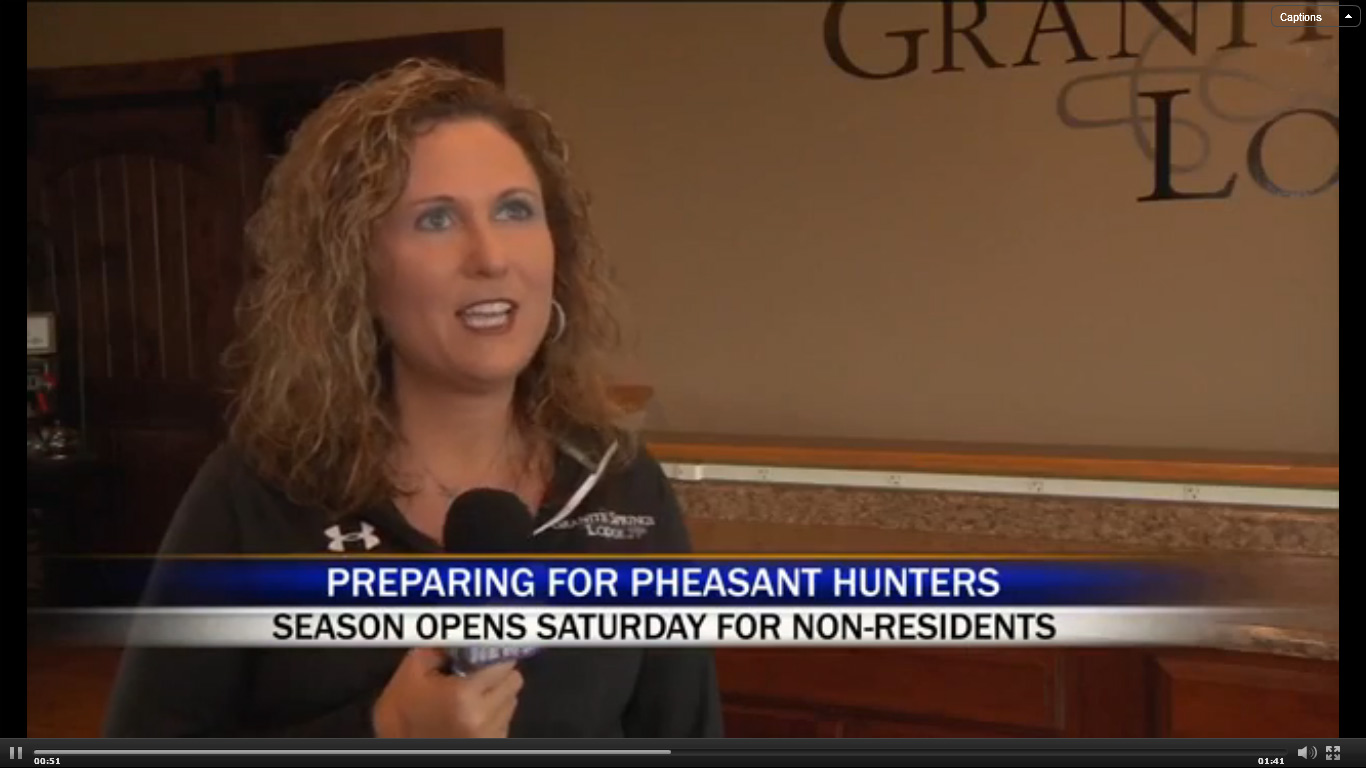 Kristy Berg - Manager at Granite Springs Hunting Lodge