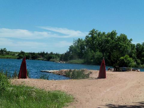 Granite Springs Lodge beach