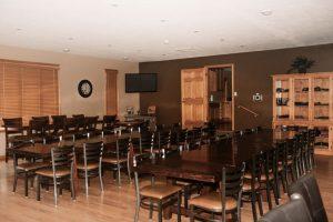 Main Lodge Upstairs Dining Room