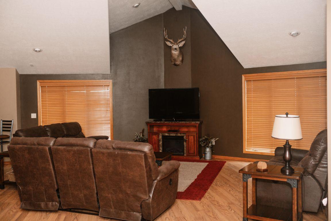 Main lodge upper living room