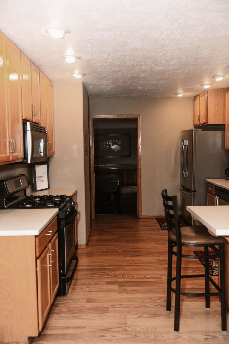 Main Lodge suite kitchen (upper level)