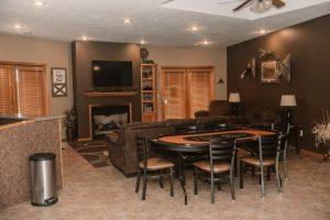 Main Lodge Basement Living Room
