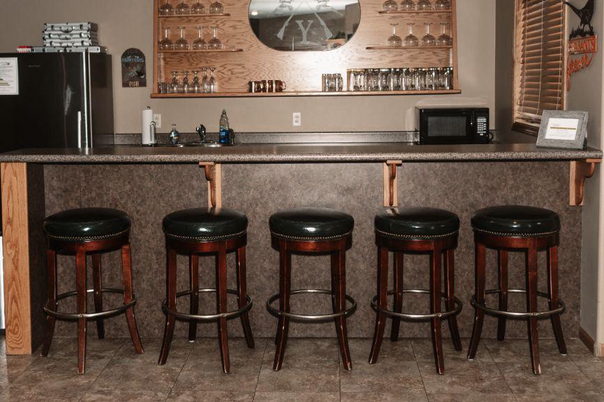 Main Lodge lower level bar area