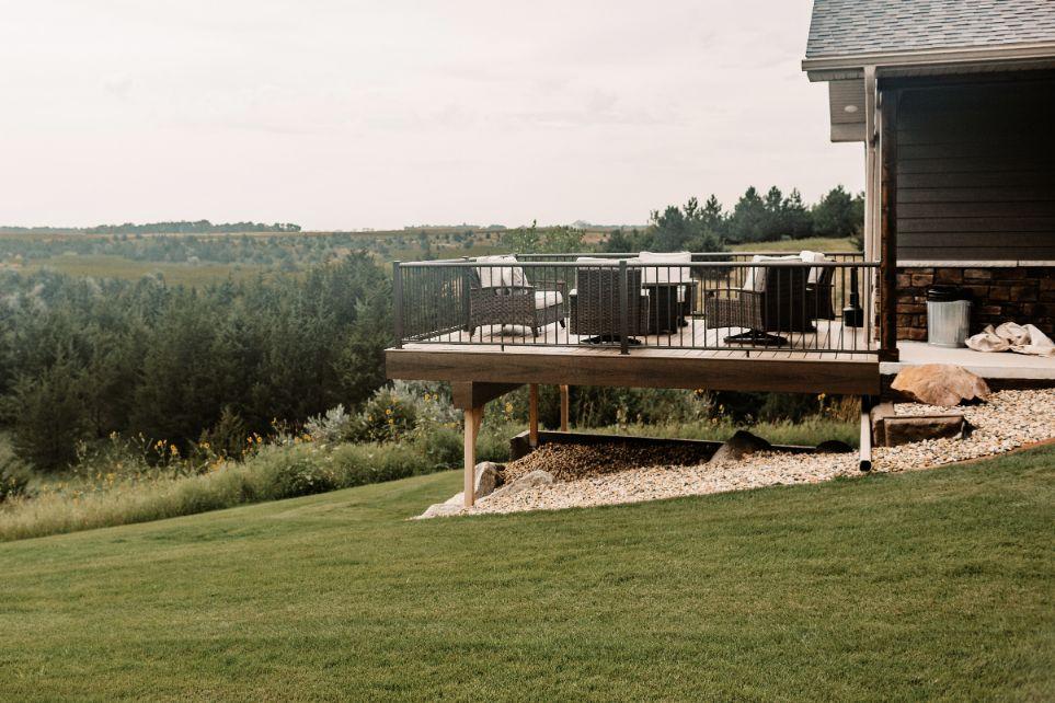 Villa upper deck