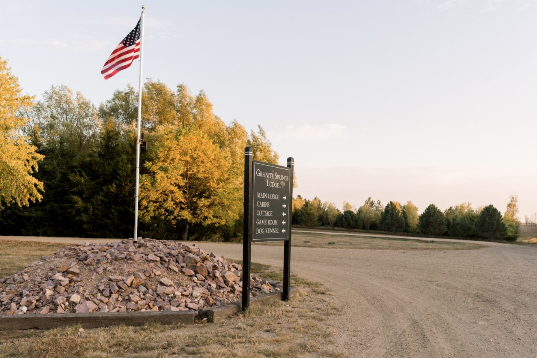 Granite Springs Lodge Entrance